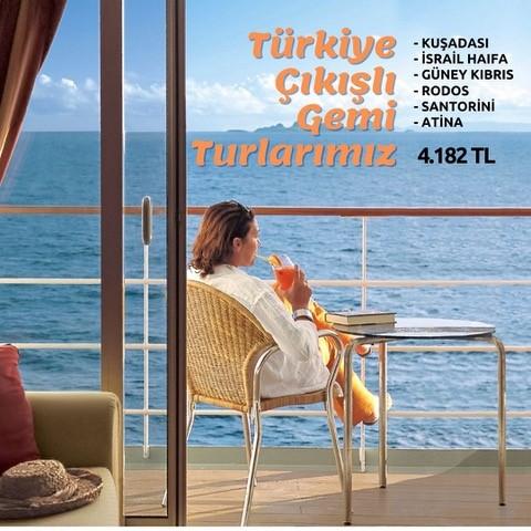Türkiye Çıkışlı Gemi Turları
